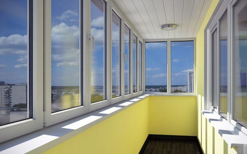 Установка и остекление алюминиевых балконов и лоджий